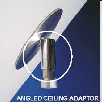 Angled ceiling adaptor