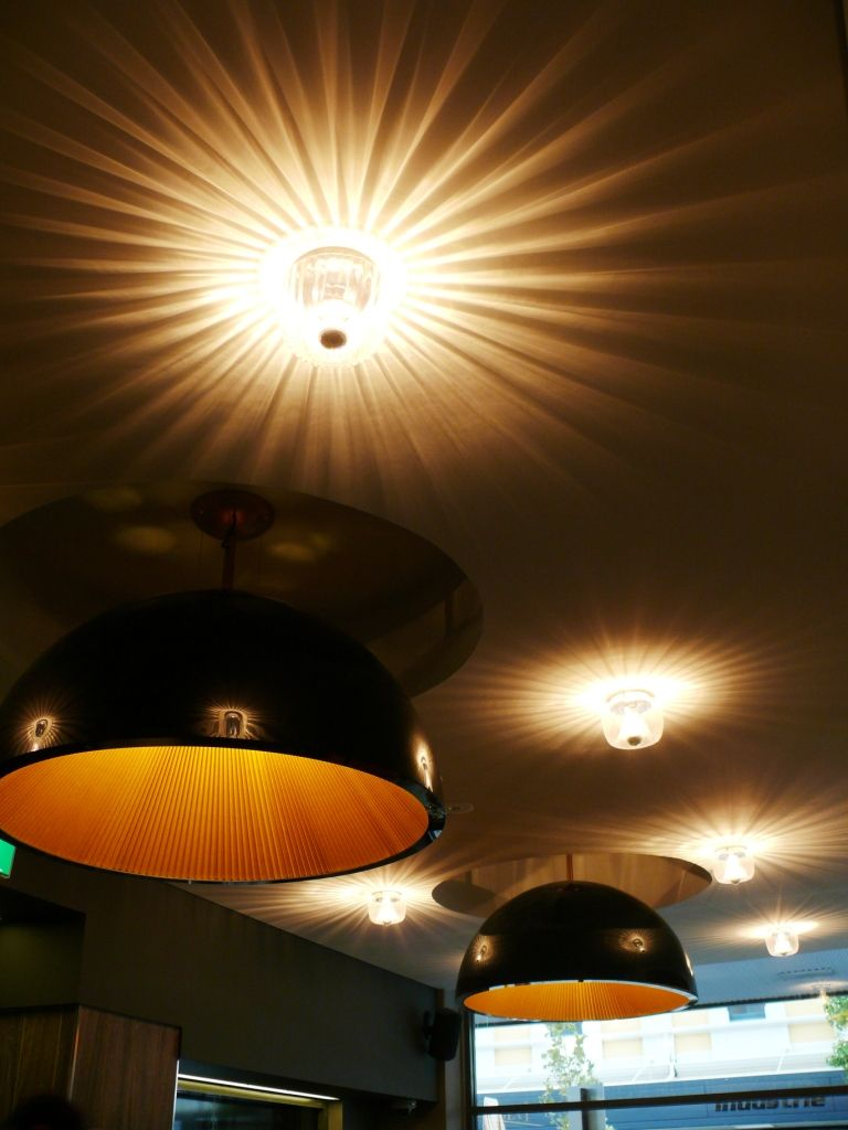 Light Fixtures Where Used To Highlight And Reflect The Ceiling Decorative  Detailing, With A Soft Initmate Lighting Design And Supply